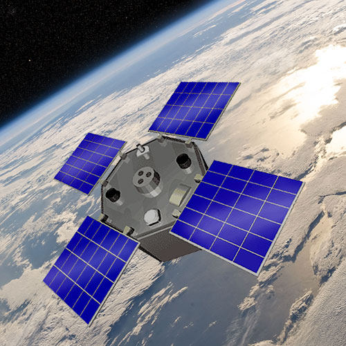 Earth Monitoring System : Active cavity radiometer irradiance monitor satellite